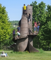 Tower at Griffis Sculpture Park