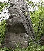 What do you see? A Face In The Rock?