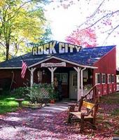 Rock City Park main building in the fall. 2003