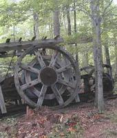 An old Pump Jack located at Rock City Park