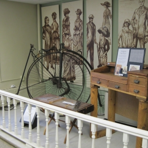 A display at the Cattaraugus County Museum in Machias, NY
