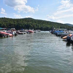 Boats at Onoville Marina