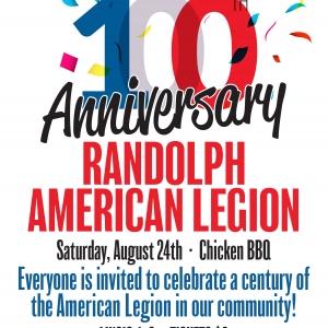 100 anniversary of Randolph American Legion