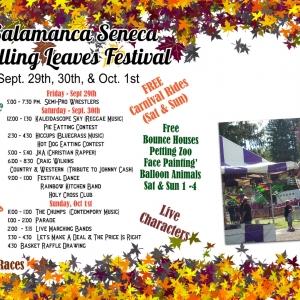2017 Falling Leaves Festival in Salamanca, NY