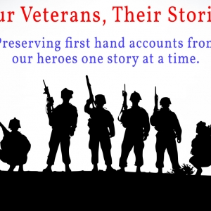 Veterans stories logo