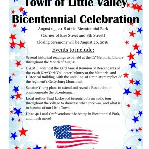 Town of Little Valley Bicentennial 2018