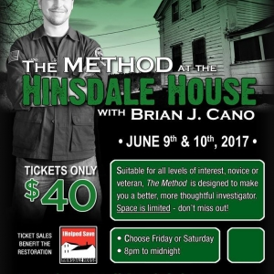 Brian Cano at the Hinsdale House