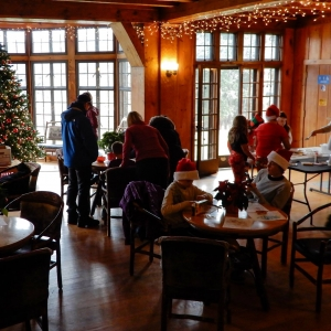 Christmas at Allegany State Park