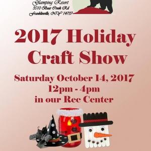 2017 Holiday Craft Show at The Woods at Bear Creek