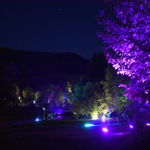 Night Lights 2019 at Griffis Sculpture Park