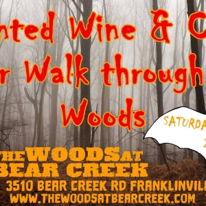 Haunted Wine and Beer Walk at the Woods at Bear Creek 2018