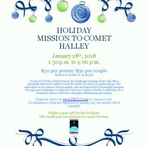 Holiday Mission to Halley's Comet DRCLC