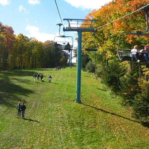 Chairlift rides at Holiday Valley