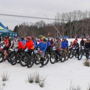 Fat Bike Race at Holimont