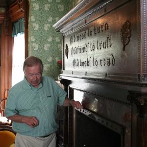 Dave Deckman at the Fannie Bartlett House