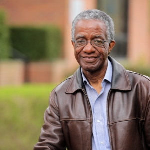 Kermit Frazier at the Olean Public Library