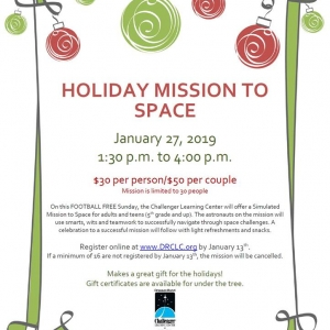 Dresser Rand Holiday Mission to Space 2019