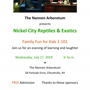 Nickel City Reptiles at Nannen Arboretum