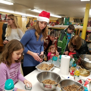 Pfeiffer's Holiday Crafts at the Portville Library