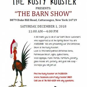 Poster: The Rusty Rooster presents The Barn Show 2018