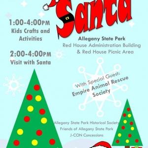 Saturday With Santa at Allegany State Park 2019