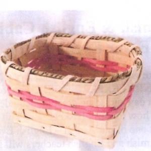 Leon's Amish-English Basket making
