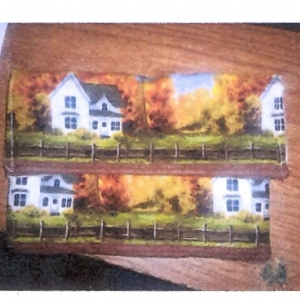 Leon's Amish-English Wrap Purse Craft