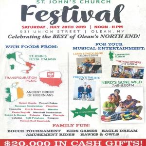 2019 St. John's Festival in Olean