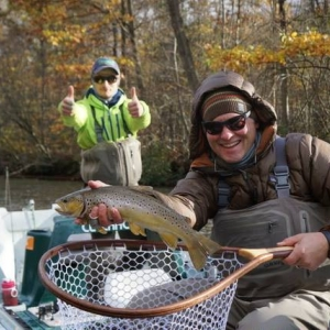 Trout fishing with Adventure Bound on the Fly