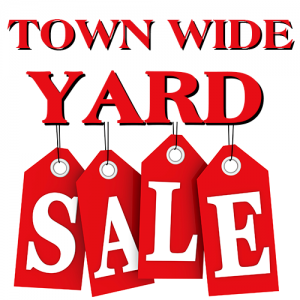 Randolph's 2018 Community Yard Sales