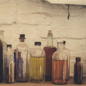Vintage Bottle Image