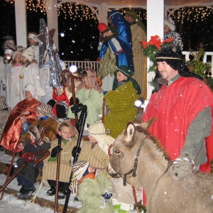 Living Nativity Ellicottville NY