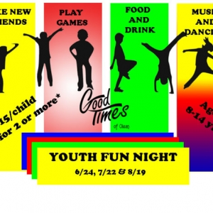 Youth Fun Night at Good Times of Olean