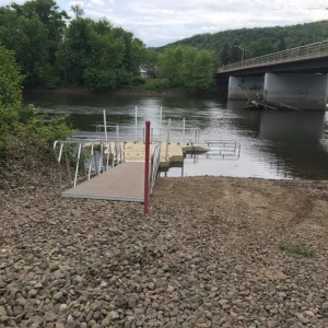 Allegany NY launch into Allegheny River