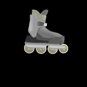 Rollerblade or rollerskate