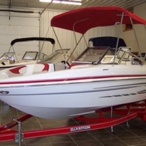 Purchase this brand new boat at Lime Lake Marine & RV