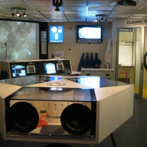 Explore area of Challenger Learning Center at St. Bonaventure