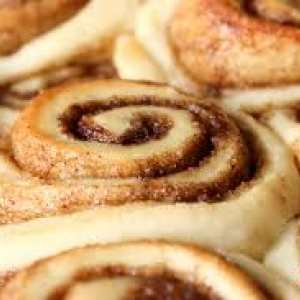 Photo of cinnamon rolls