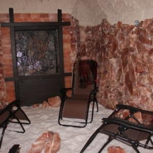 inside of salt cave