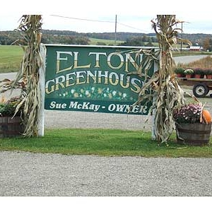 Elton Greenhouse sign