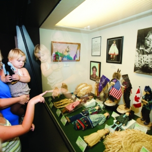 Family at the Museum