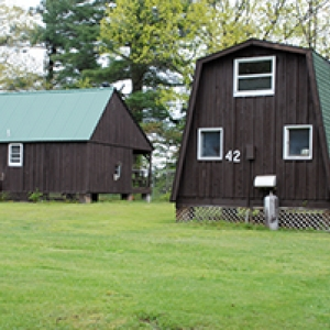 cabins at Highbanks