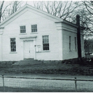 old photo of the Mansfield Area Historical Society Museum