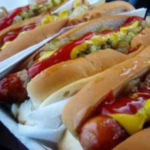 yummy hot dogs