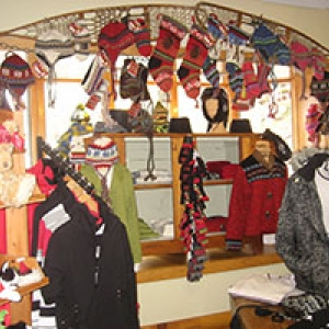 display at Mountain Shop