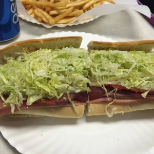 Photo of one of their subs