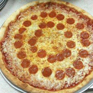 Pepperoni Pizza at Renna's