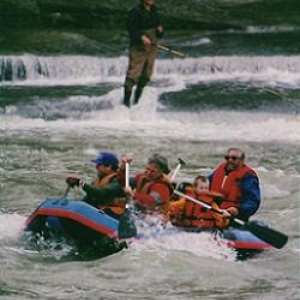Rafting the Cattaraugus Creek