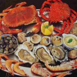 signature seafood dish