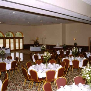 banquet room at Premier Banquet Center